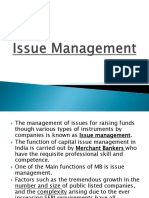 Chp 2 - Issue Management