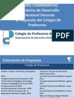 Cuadro Comparativo Proyecto Ley y Propuesta Colegio Profesores 27 Abril 15