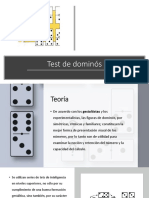 Test de Dominós
