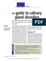 A Guide to Salivary Gland Disorders