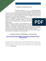 Fisco e Diritto - Corte Di Cassazione n 16743 2010