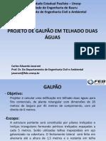 Projeto Galpão 1