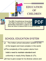 Education of Children