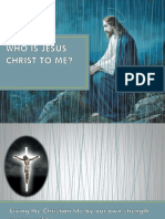 PPT YFC Talk 2 Who is Jesus Christ to Me