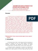 As Festas de Outubro em Santa Catarina e sua importância na economia local