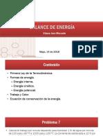 Energy Balance May 16