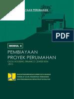 Modul 4 Pembiayaan Proyek Perumahan - COVER