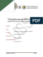 I.E - Calculos de Los Conductores Electricos de Una Vivienda - Cruz Yong Gino