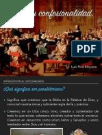 Iglesia y Confesionalidad.