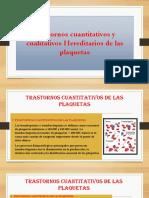 Trastornos cuantitativos y cualitativos de las plaquetas.pptx