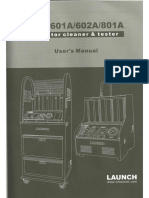 manual usuario launch cnc 601A/602A/802A en ingles
