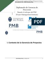 01. XXXI. Diplomado - I Contexto de La Gerencia de Proyectos Pag 1 Al 34_v2_Sesión 1