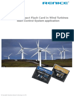 Renice Compact Flash Card in Wind Turbines Main Control System Application