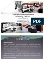 The Enterprise Systems Implementation  An Integrative Framework