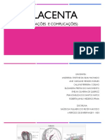 Placenta e Complicações Placentárias