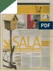 Cabrera, Jaime. (2 de abril de 2011). Sala con nuevos aires. Perú21, p. 19.