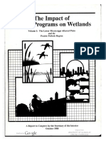 1988-10-00 Impact Fed Programs Wetlands v 1