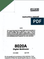 8020A Manual
