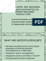 Notes on Biofertilizer