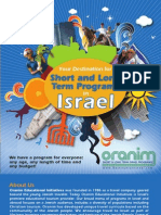 Short and Long Term Israel Programs