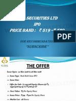 Icici Securities Rudra