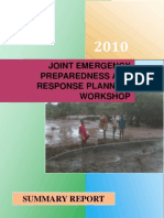 Emergency Preparedness & Response - OPM Summary Report