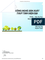 Cong Nghe Sx Thuy Tinh