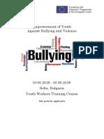 Info Pack Bullyng Test