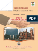 Madras University-BBA Syllabus