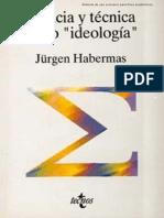 Politica Cientifizada Opinion-Habermas Jurgen-1968