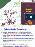 4 Model-model Pengajaran