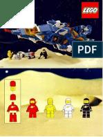 Lego Instruction Manual 6985-1986