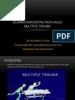 Kegawatdaruratan Pada Kasus Multiple Trauma