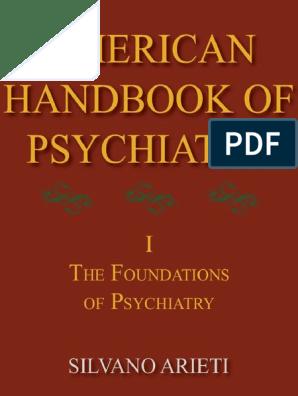 American Handbook of Psychiatry - Volume I - The Foundations