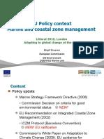 Snoeren, Birgit - LITTORAL 2010 - ICZM MSFD Adaptation Policy Update