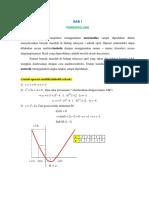 Kuliah Metode Numerik - Bab 01 - Selasa 23 September 2014