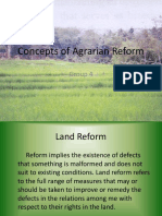 51489849 Concepts of Agrarian Reform