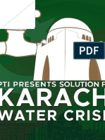 PTI Presents Solution for Water Crisis Karachi