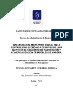 Herrera Influencia Del Marketing Digital