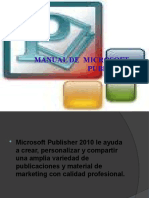 Manual de Microsoft Publisher.