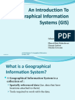 Geographical Information System