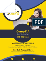SY0-401 Exam Dumps with Updated SY0-401 Exam Questions PDF [2018]