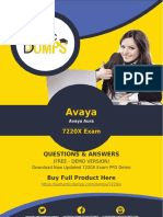 7220X Exam Questions - Pass with Valid Avaya 7220X Exam Dumps PDF