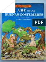 El ABC de Las Buenas Costumbres - Rafael Gomez Perez