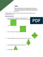 MARI Belajar Origami