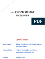 Profile on Styrene Monomer_Scribd