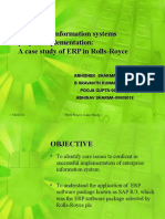 Enterprise information systems project implementation:A case study of ERP in Rolls-Royce