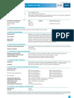 Data Sheet for MII Fireproofing