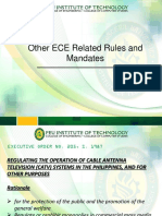 ECE RUles and Mandates