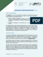 Compliance Penal Castellano